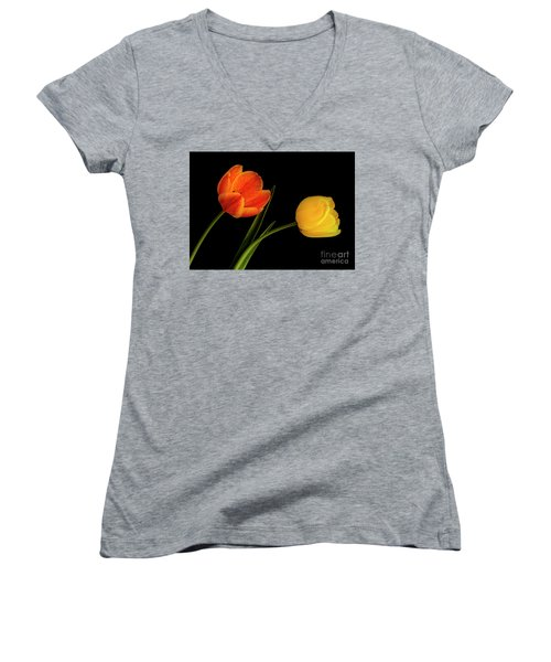 Tulip Pair Women's V-Neck