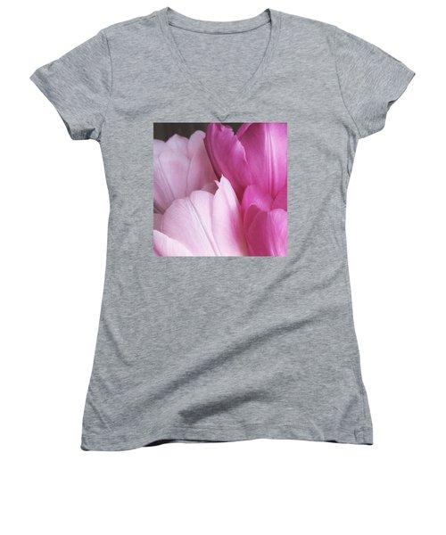 Tulip Petals Women's V-Neck