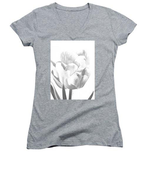 Tulips No. 1 Women's V-Neck