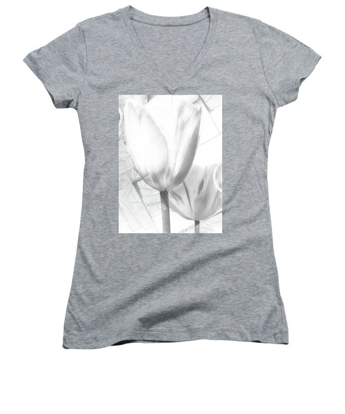 Tulips No. 3 Women's V-Neck