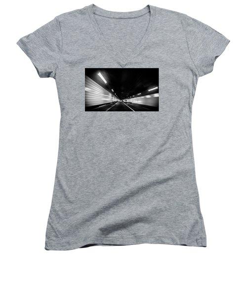 Tunnel Women's V-Neck T-Shirt