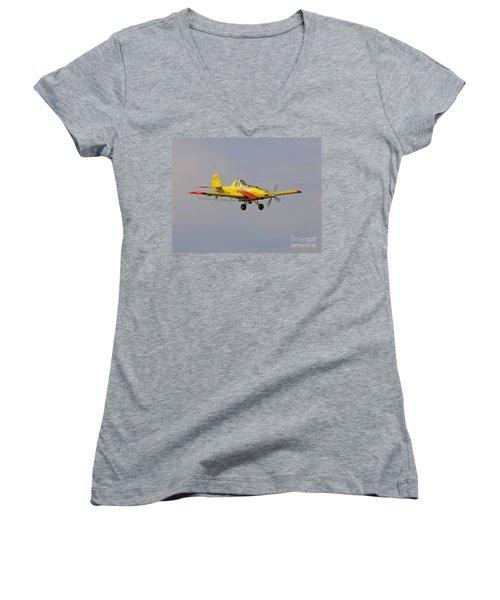 Turbo Trush 1 Women's V-Neck T-Shirt