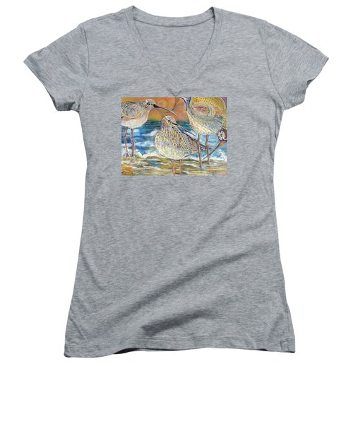 Turning Of The Tides Women's V-Neck T-Shirt