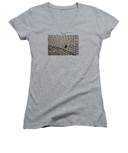 Turtle Trap Women's V-Neck (Athletic Fit)