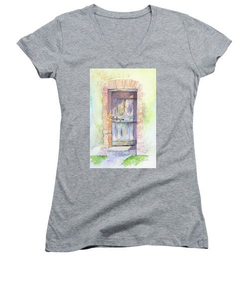 Tuscan Doorway Women's V-Neck