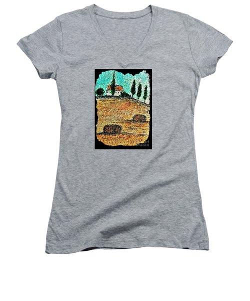 Tuscany  Women's V-Neck T-Shirt