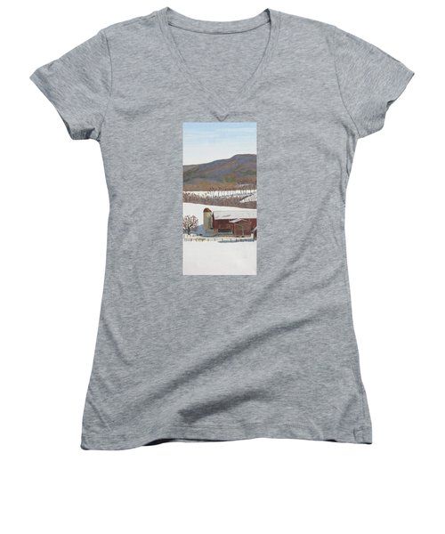 Tussey Mountain View Women's V-Neck T-Shirt
