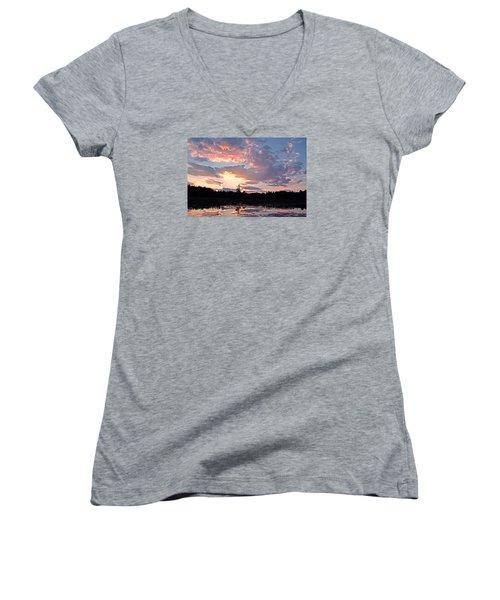 Twilight Glory Women's V-Neck T-Shirt