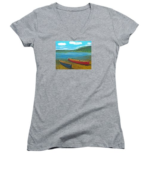 Two Canoes Women's V-Neck
