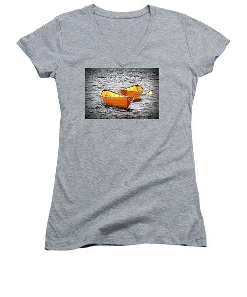 Two Dories Women's V-Neck T-Shirt