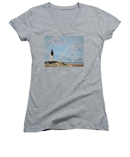 Tybee Light Savannah Women's V-Neck