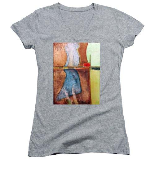 Art Print U2 Women's V-Neck