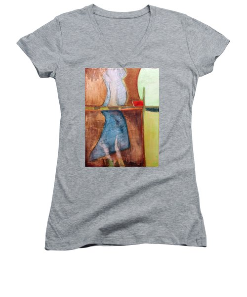 Art Print U2 Women's V-Neck (Athletic Fit)