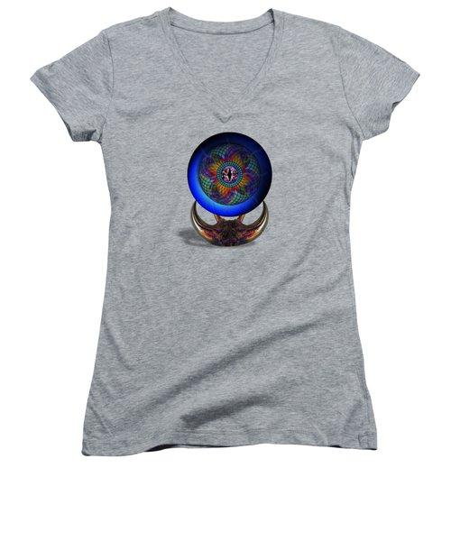 Uadjet's Eye Women's V-Neck T-Shirt