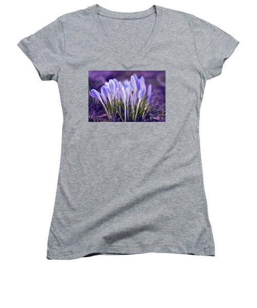 Ultra Violet Sound Women's V-Neck