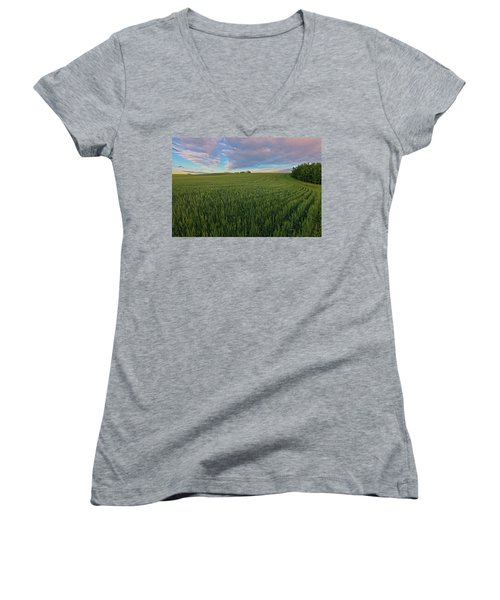 Under A Summer Sky Women's V-Neck (Athletic Fit)