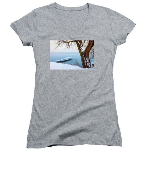 Under The Branch Women's V-Neck (Athletic Fit)