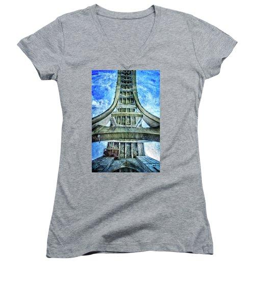 Under The Bridge Women's V-Neck T-Shirt