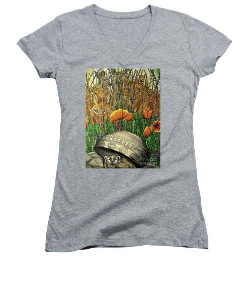 Undercover Women's V-Neck T-Shirt (Junior Cut) by Kim Jones
