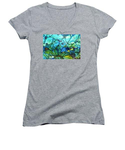 Underwater Fantasy Women's V-Neck