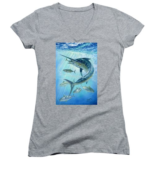 Underwater Hunting Women's V-Neck
