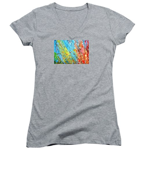 Underwater Magic Series 4 Women's V-Neck T-Shirt
