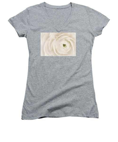 Unfolding Women's V-Neck