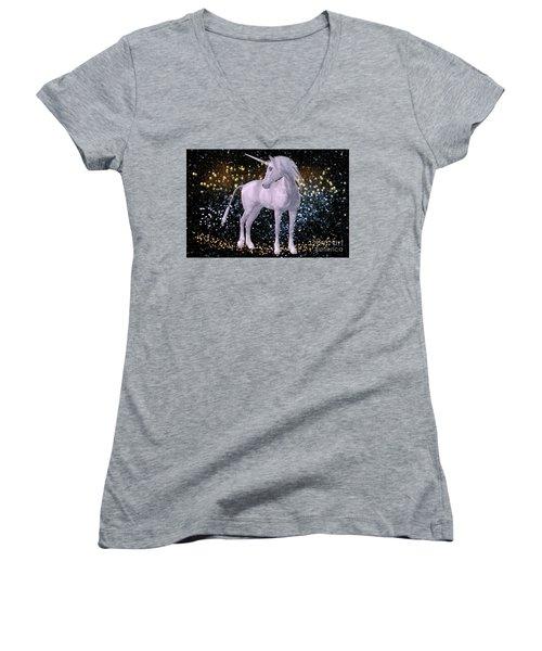 Unicorn Dust Women's V-Neck