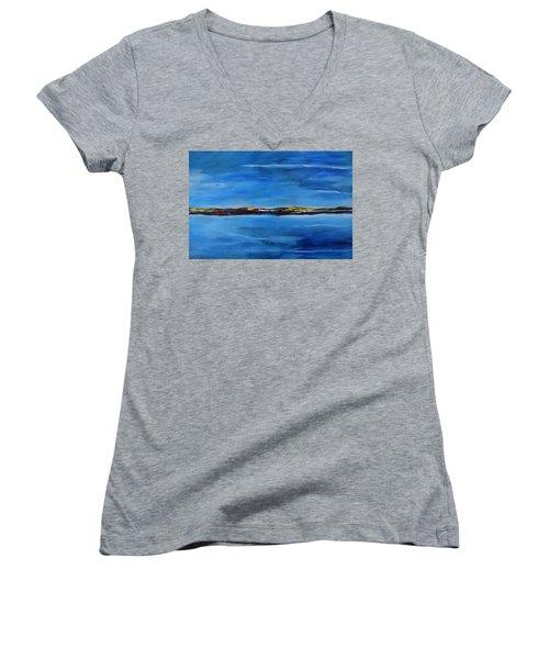 Uninhabited Women's V-Neck T-Shirt