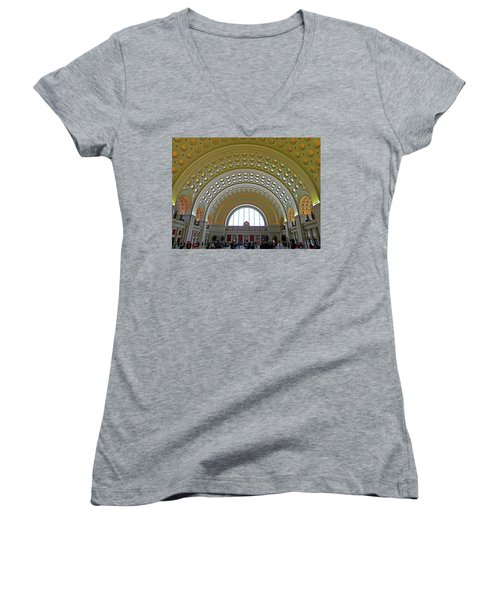 Union Station 12 Women's V-Neck T-Shirt