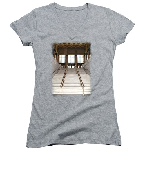 Union Street Station Women's V-Neck (Athletic Fit)