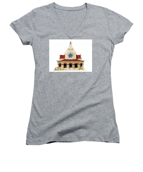 Unitarian Church - F.furness Women's V-Neck