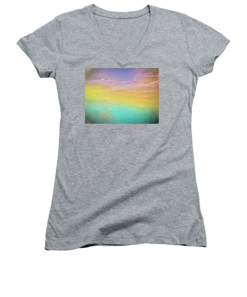 Untitled Abstract Women's V-Neck (Athletic Fit)