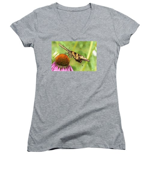 Untitled Butterfly Women's V-Neck