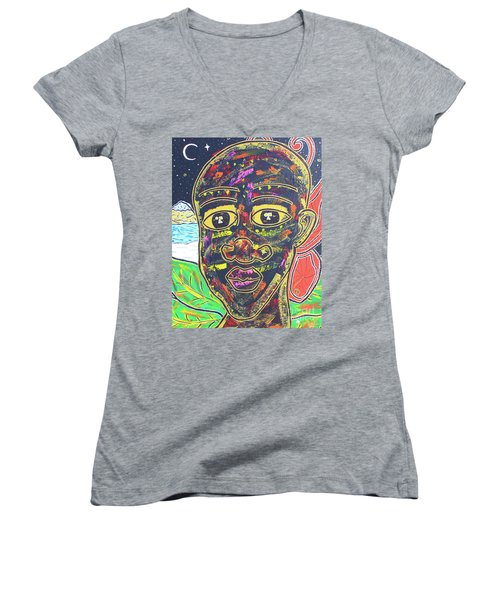 Untitled II Women's V-Neck