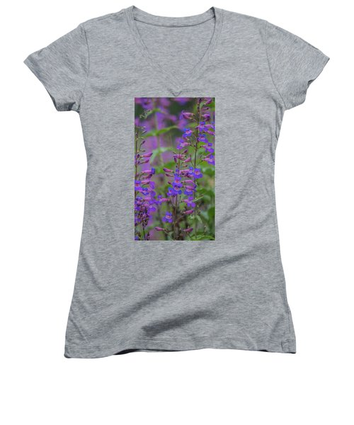 Up Close And Personal With Beauty Women's V-Neck