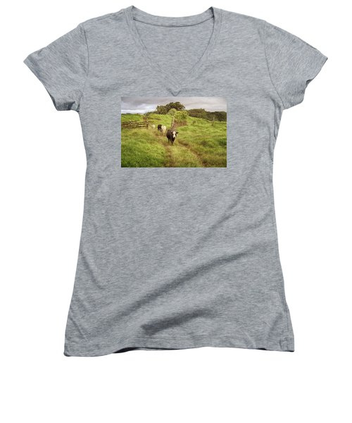 Upcountry Ranch Women's V-Neck