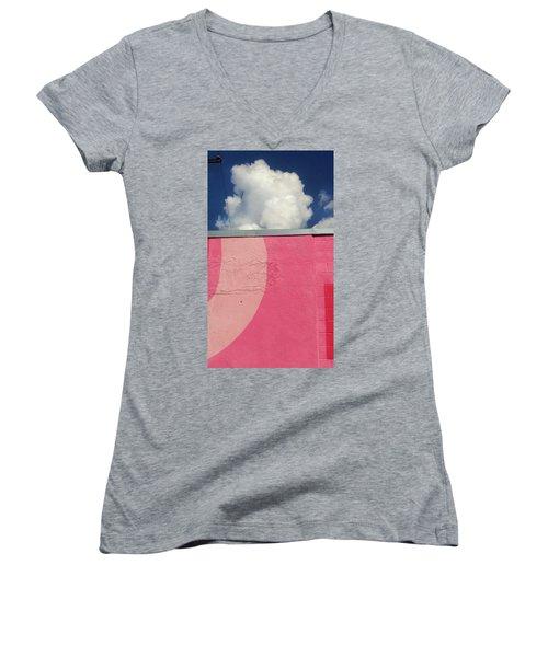 Upload Women's V-Neck T-Shirt