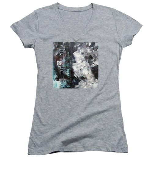 Urban Series 1603 Women's V-Neck T-Shirt (Junior Cut) by Gallery Messina