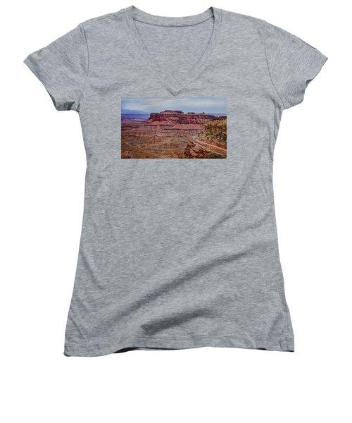 Utah Canyon Country Women's V-Neck
