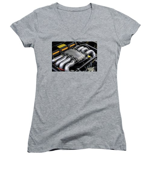 V8 Porsche Women's V-Neck (Athletic Fit)