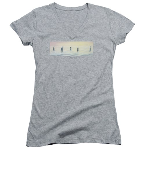 Vacancy Women's V-Neck (Athletic Fit)