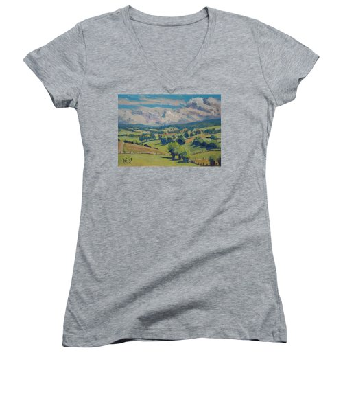 Valley Schweiberg Women's V-Neck T-Shirt