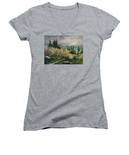 Valleyo Women's V-Neck T-Shirt