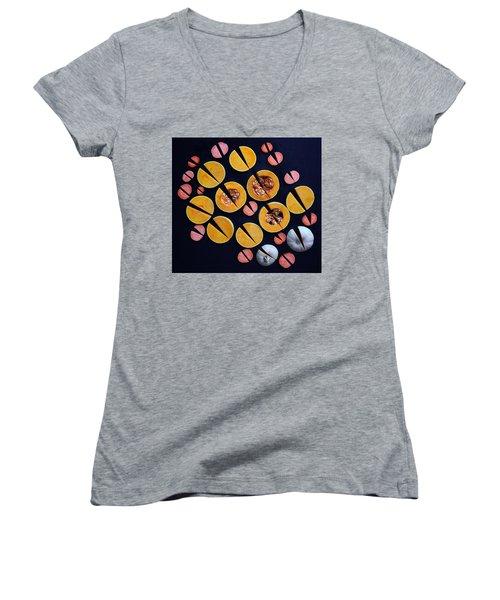 Vegetable Patterns Women's V-Neck