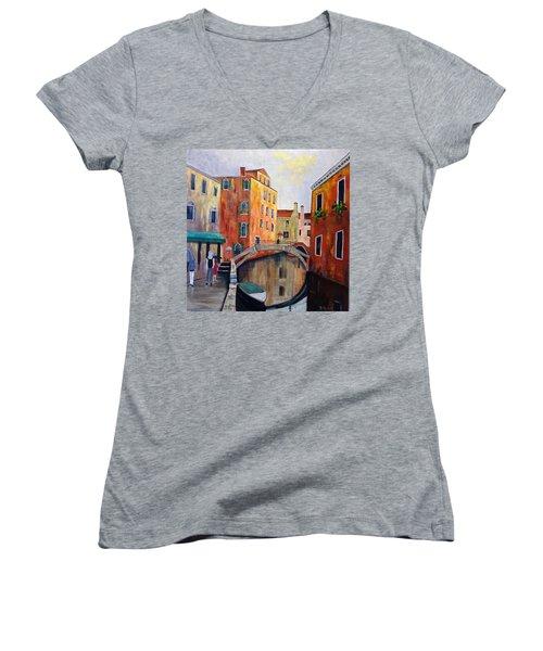 Venice  Women's V-Neck (Athletic Fit)