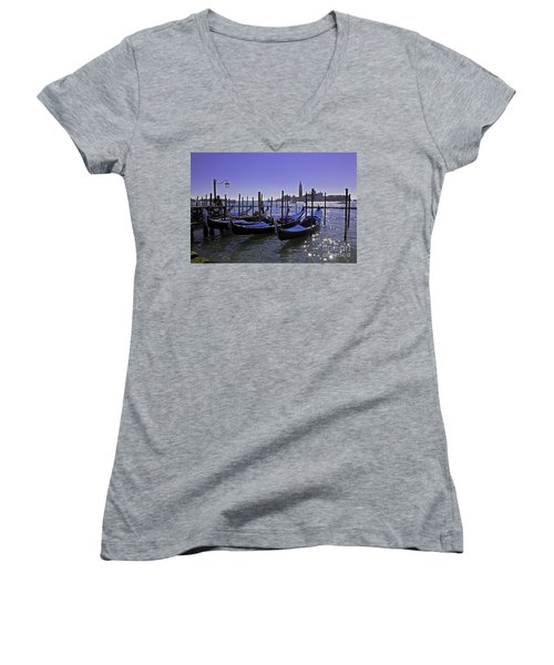 Venice Is A Magical Place Women's V-Neck (Athletic Fit)
