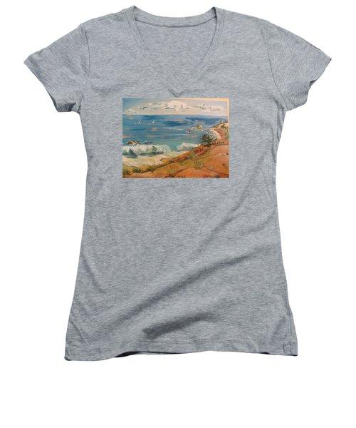 Ventura Imagined Women's V-Neck T-Shirt