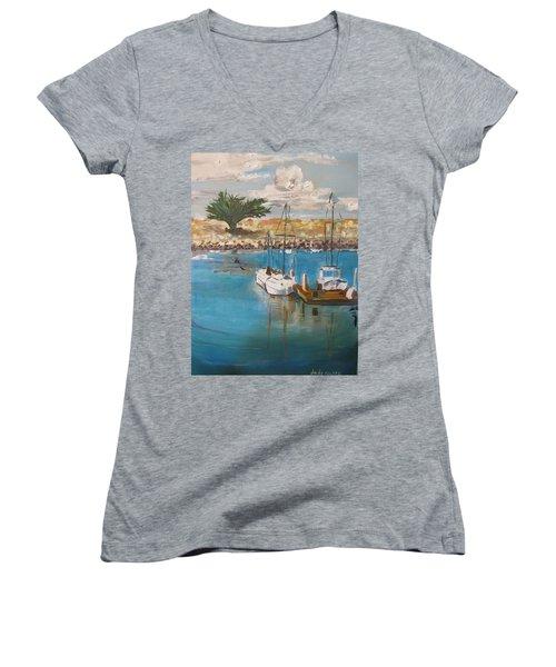 Ventura Marina Women's V-Neck T-Shirt