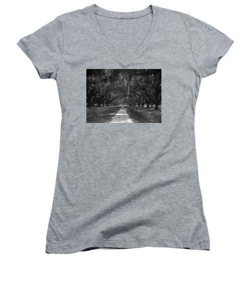 Versailles Oaks Women's V-Neck T-Shirt